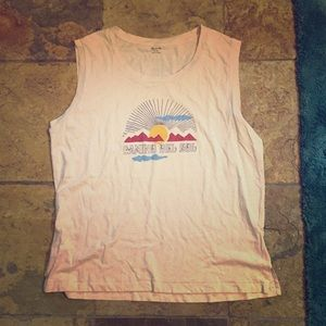 NWT Madewell Camino del Sol Muscle Tee